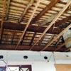 Proyectar poliuretano en techo interior de piso