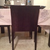 Tapizar seis sillas de madera