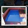 Construcción de piscina de obra en patio interior