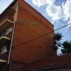 Proyectado fachada lateral de edificio