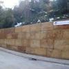 Construir muro de hormigón