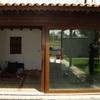 Colocar ventana corredera de porchada 3 por 3 en pvc imitación madera