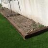 Levantar muro para macetero de arboles en el jardin