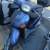 Tapizar el asiento de moto piaggio liberty