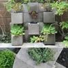Jardinera de bloques
