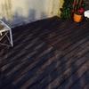 Mantenimiento madera suelo jardín