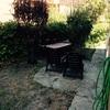 Acindicionar jardin y enlosetar