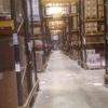 Limpieza almacén logístico