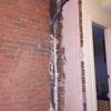 Aislamiento de pared y bajante de aguas residuales poco domestica