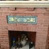 Insertar casete leña en chimenea