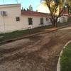 Obras de drenaje de cimentación bajo nivel del suelo unos 2 metros