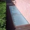 Reparacion o instalacion de suelo de cristal transitable