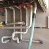 Conectar tuberia de gas desde la mariposa hasta la caldera