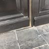 Reparar suelo del porche de un chalet (de losetas de pizarra)