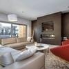 Pared de pladur para integrar chimenea y tv en el salon