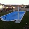 Bordear una piscina de 10m x 4m