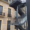 Hacer escalera exterior de incendios metalica