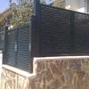 Verja y puerta de aluminio entrada casa