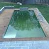Reparar la madera alrededor de la piscina
