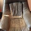 Forrar un sillón de piel