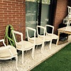 Tapizado de sillas restauradas y limpias