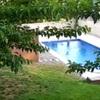 Colocar hormigón impreso en la piscina