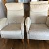 Renovar dos butacas: tapizado y espuma poliuretano