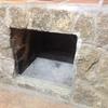 Suministro e instalación de insertable o puerta la chimenea