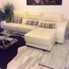 Tapizar sofa de piel blanca