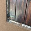 4 marcos exteriores, con recrecido y contraventanas