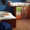 Desmontaje y nuevo montaje en otra habitación de litera tren montaje adicional de dormitorio ikea