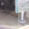 Instalar escaparate,vidrio roto
