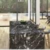 Encimera de cocina para isla piedra negra