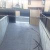 Hormigón en rampa de garaje