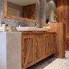 Amueblar zona vestido y cuarto de baño y colocacion de mampara