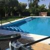 Limpieza de piscina y enlechado del crescitis 45metros cuadrados