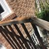 Cambio barandillas de madera