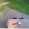 Lijar y barnizar tarima de madera exterior