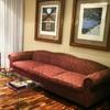 Tapizado de un sofá en piel