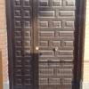 Venta e instalacion puerta de madera exterior