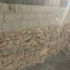 Enlucir muro piedra y añadir celosía