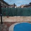 Construcción muro separación de parcelas