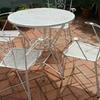 Pintar sillas y mesas de exterior