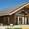 Construcción casa prefabricada de madera en vigo distribucion parecida a la foto que acompaño
