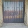 Puerta de garaje metálica (imitación puertas madera estilo comarca de sayago)