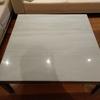 Pulir mesa de marmol