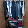 Vestir dos armarios empotrados para organizar interior