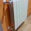 Ampliar elementos en radiadores y poner reguladores termostáticos