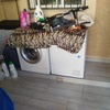 Cerramiento para lavadora y secadora