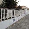 Reparación y construcción de muro exterior